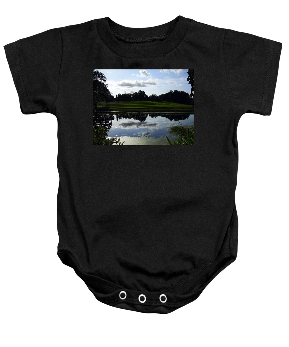 Middleton Place Baby Onesie featuring the photograph Middleton Place II by Flavia Westerwelle