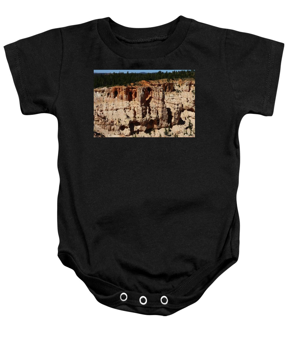 Canyon Baby Onesie featuring the photograph Mind Blowing Bryce Canyon View by Christiane Schulze Art And Photography
