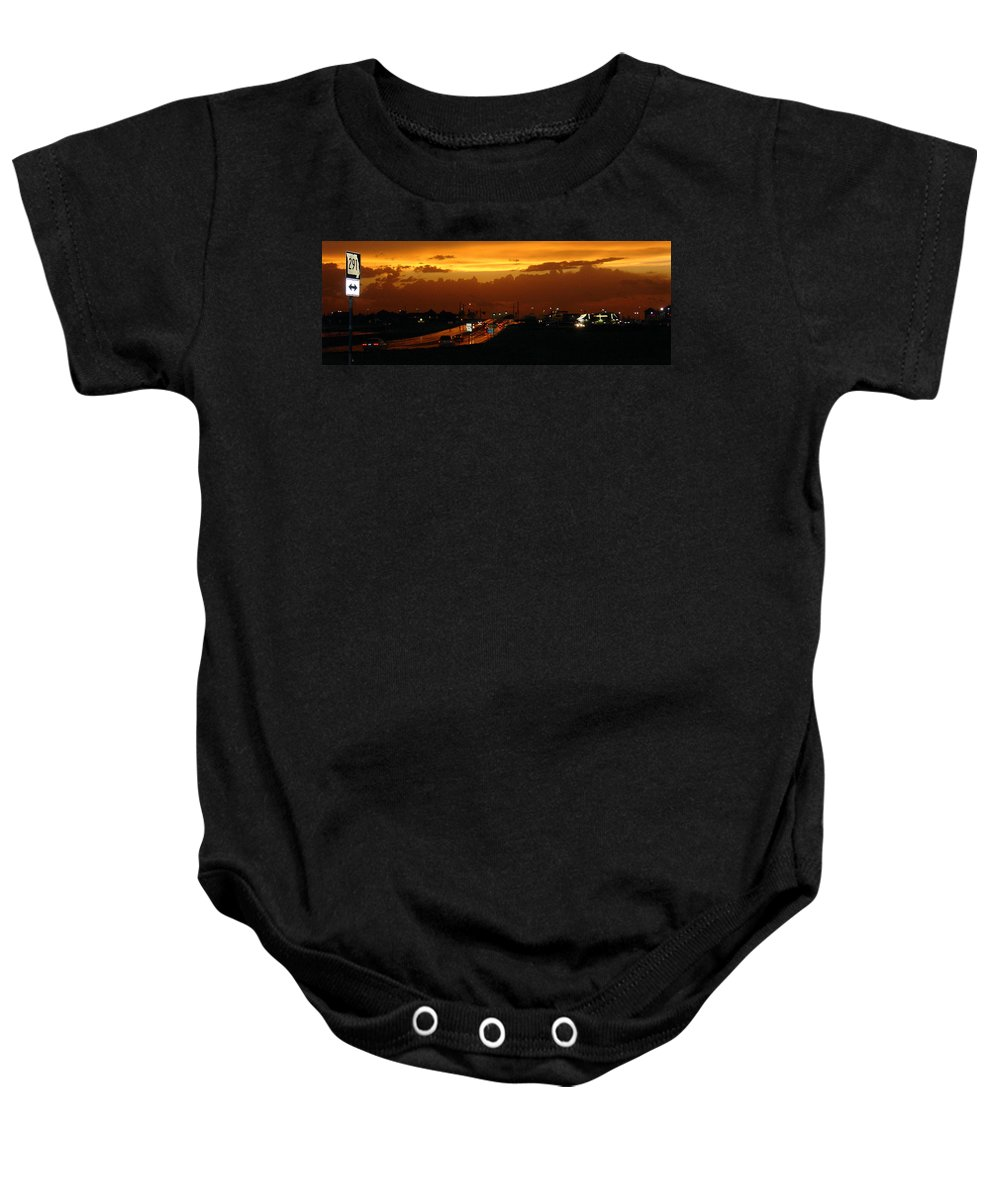 Landscape Baby Onesie featuring the photograph Missouri 291 by Steve Karol