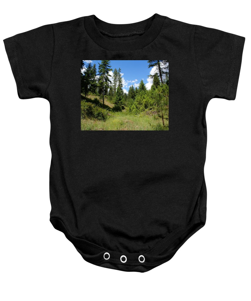 Nature Baby Onesie featuring the photograph Mother Earth by Ben Upham III