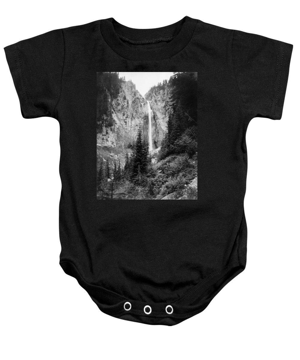 1932 Baby Onesie featuring the photograph Mount Rainier National Park by Granger