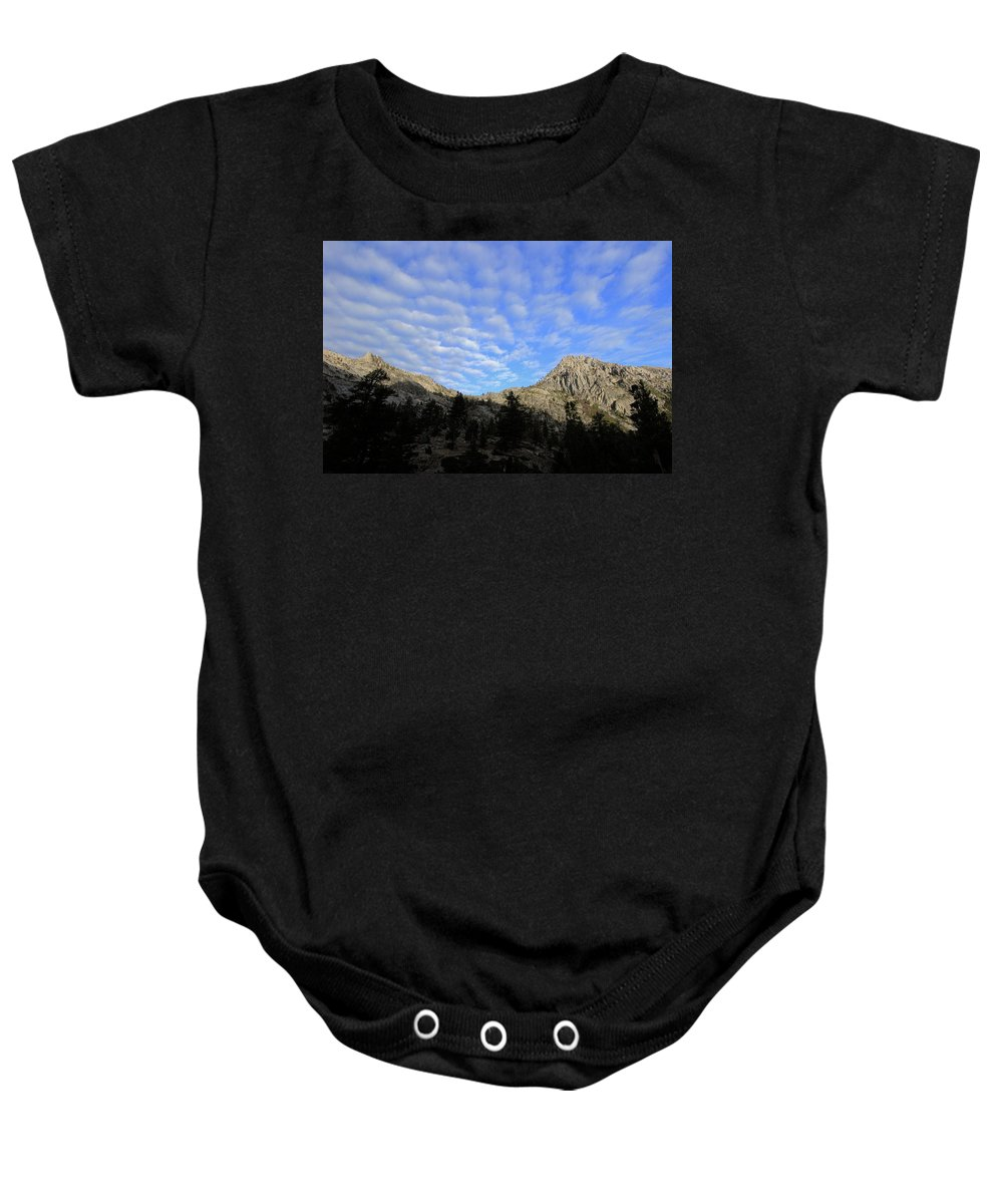 Mountains Baby Onesie featuring the photograph Mountain Majesty by Sean Sarsfield