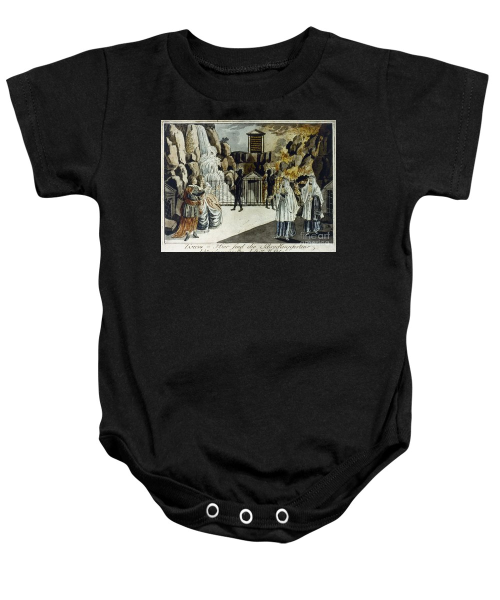 18th Century Baby Onesie featuring the photograph Mozart: Magic Flute by Granger