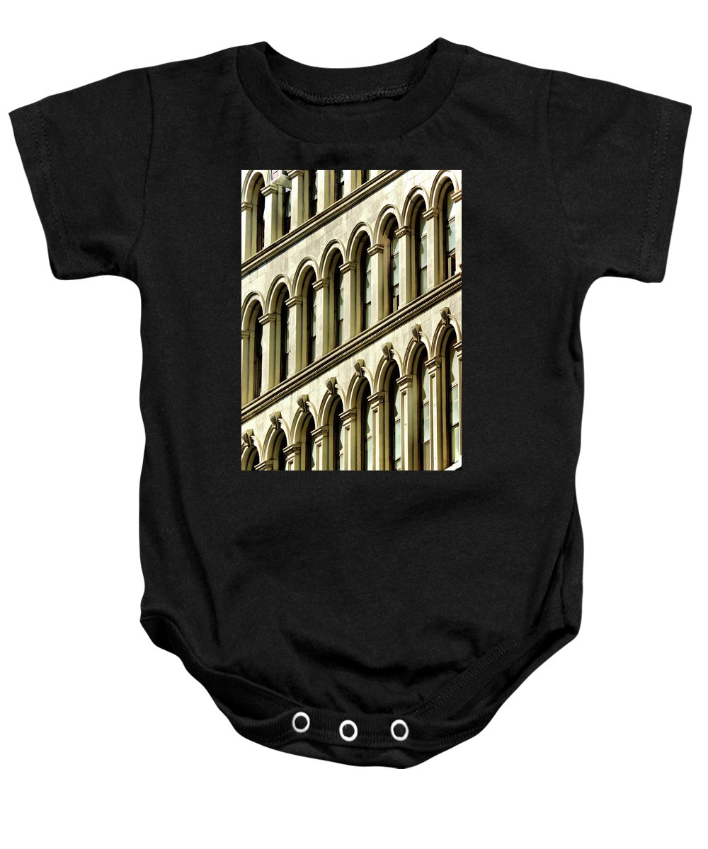 Windows Baby Onesie featuring the photograph Multiple Views by Cate Franklyn
