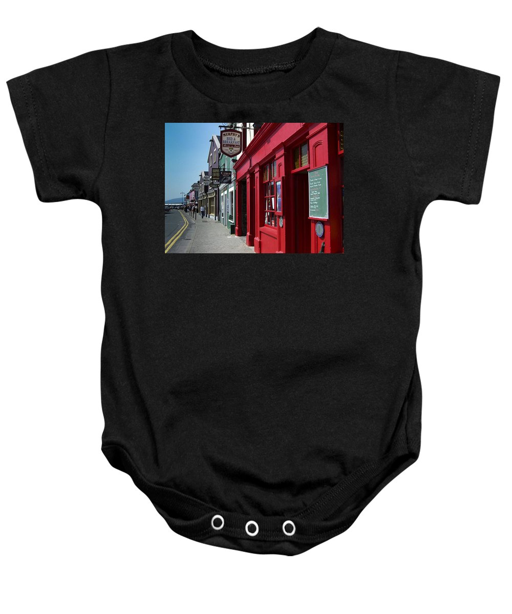 Irish Baby Onesie featuring the photograph Murphys Bed And Breakfast Dingle Ireland by Teresa Mucha