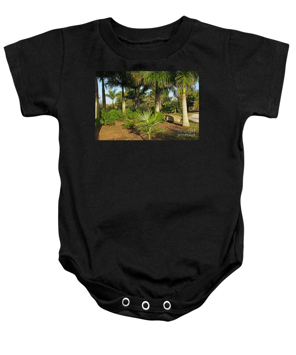 Nature Baby Onesie featuring the photograph Natural Beauty Of Florida by Zal Latzkovich
