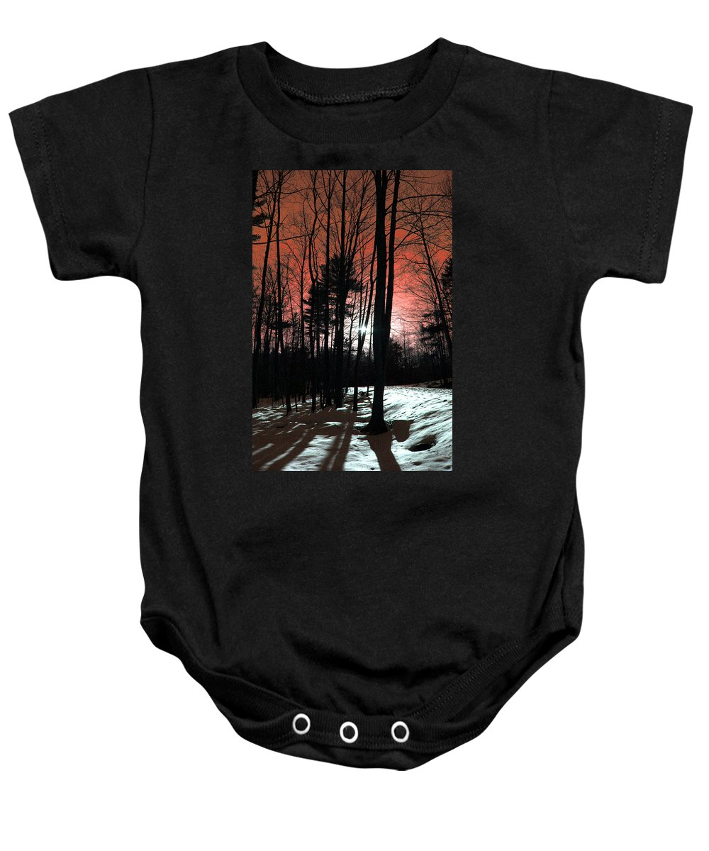 Nature Baby Onesie featuring the photograph Nature Of Wood by Mark Ashkenazi