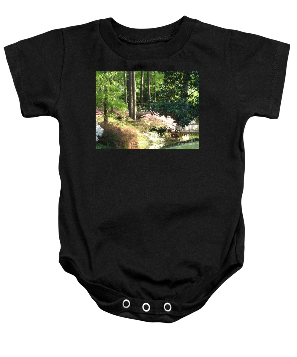 Photography Baby Onesie featuring the photograph Nature by Shelley Jones