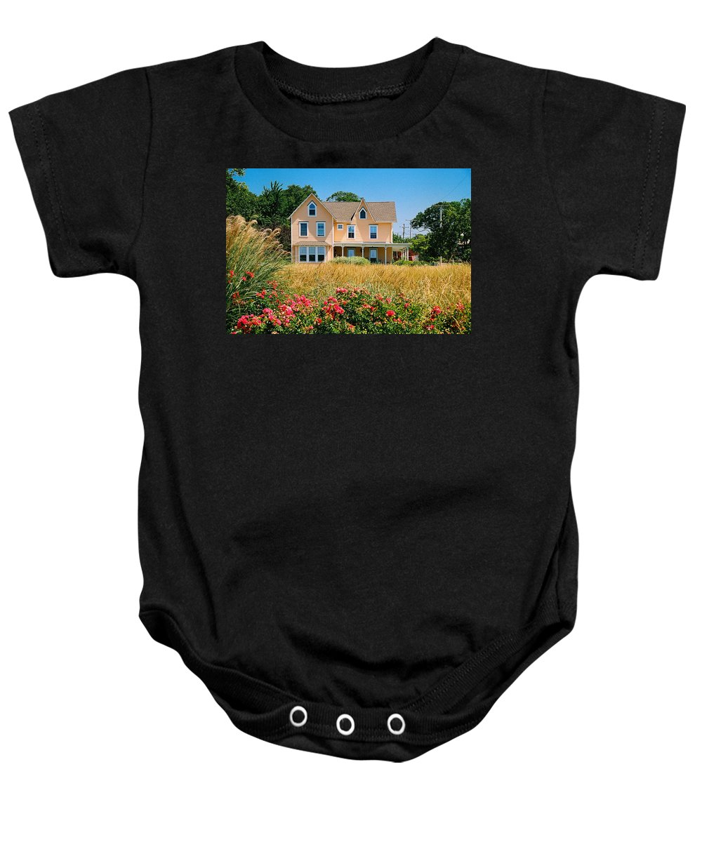 Landscape Baby Onesie featuring the photograph New Jersey Landscape by Steve Karol