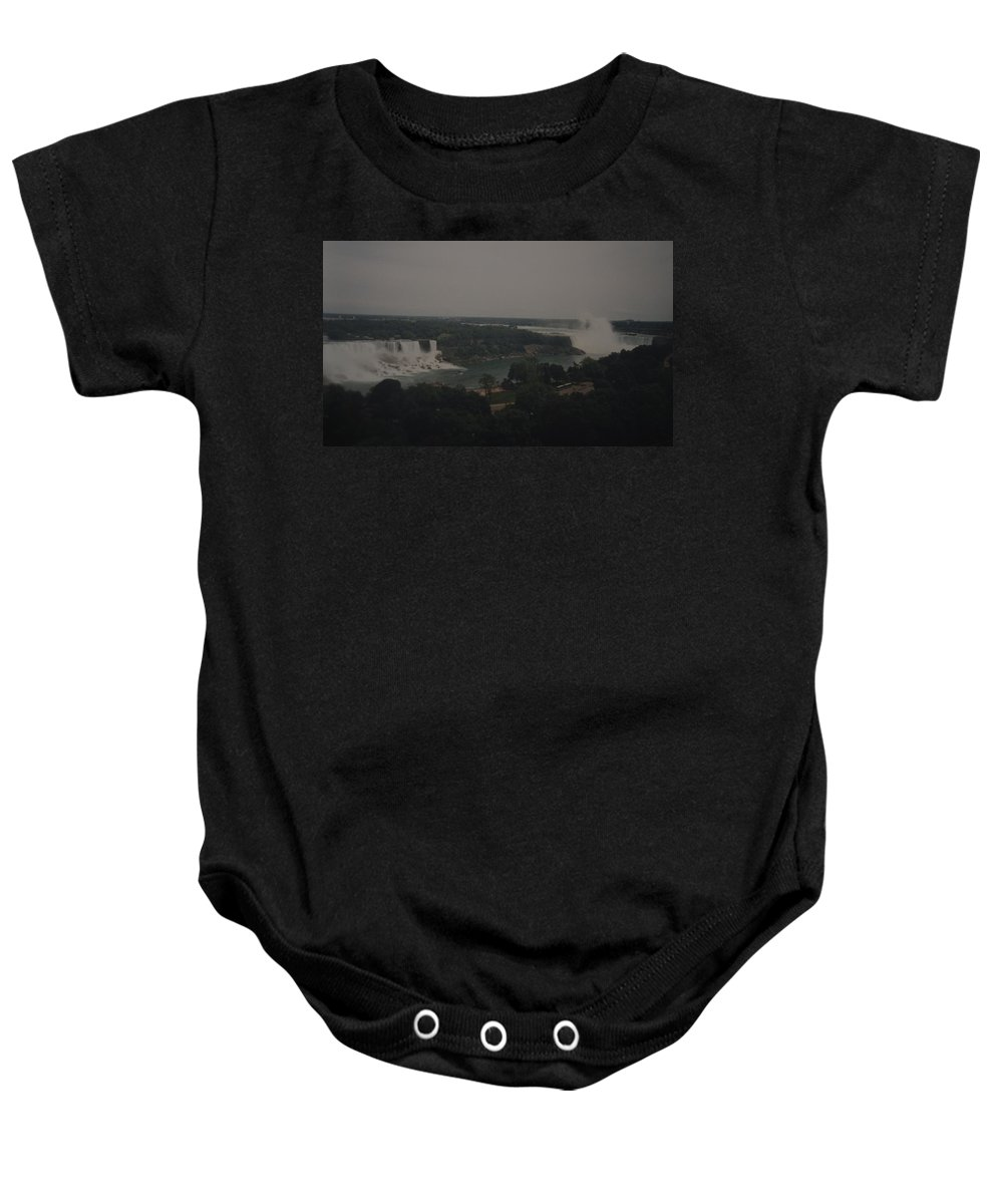 Niagara Falls Baby Onesie featuring the photograph Niagara Falls by Rob Hans