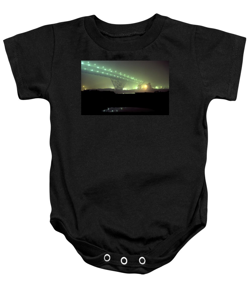 Night Photo Baby Onesie featuring the photograph Nightscape 3 by Lee Santa