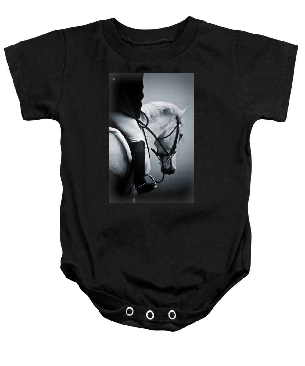 Horse Baby Onesie featuring the photograph Nobility by Hannah Breidenbach