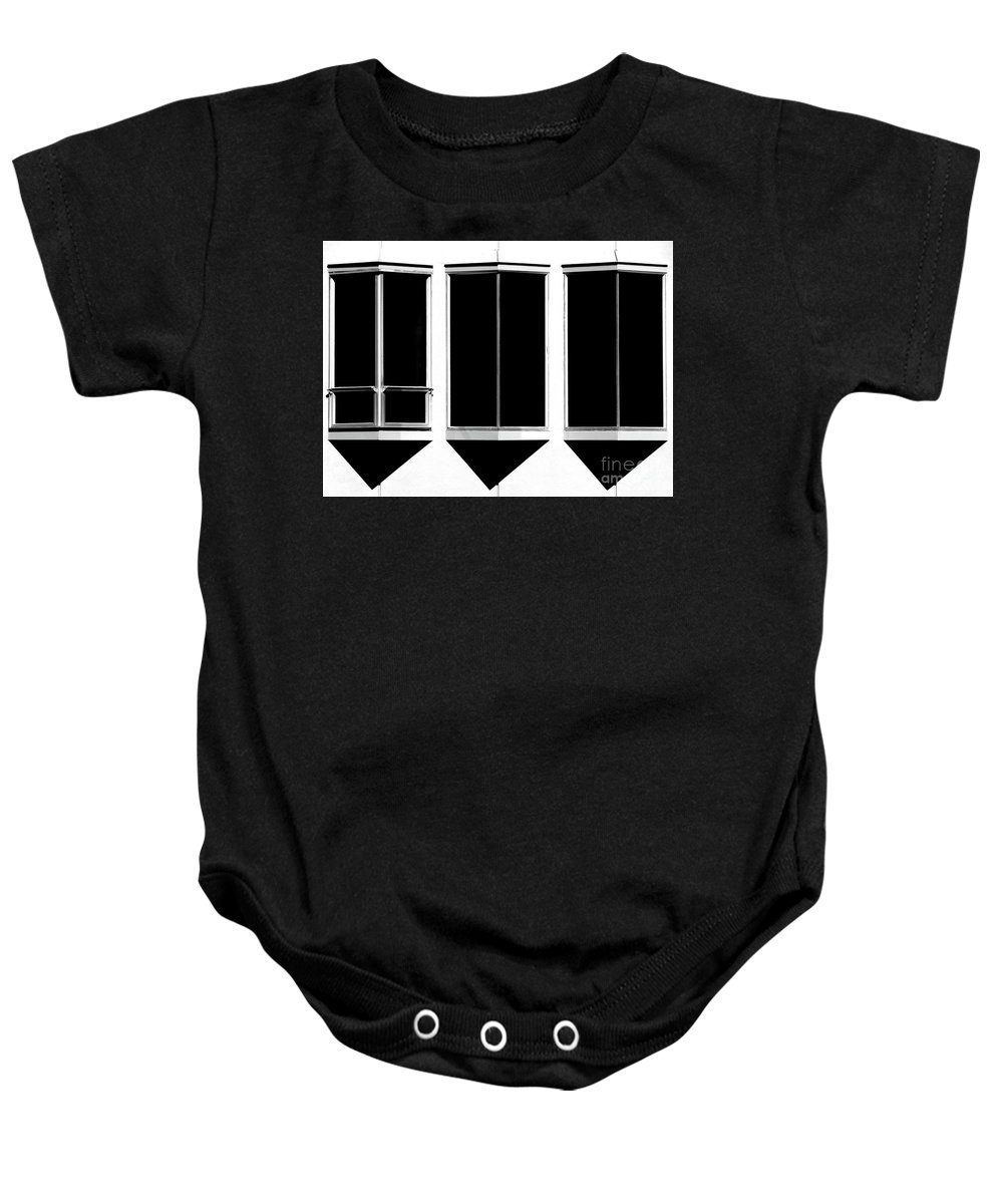 Cml Brown Baby Onesie featuring the photograph None More Black by CML Brown