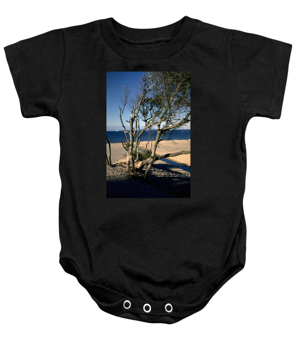 Denmark Baby Onesie featuring the photograph Nordic Beach by Flavia Westerwelle