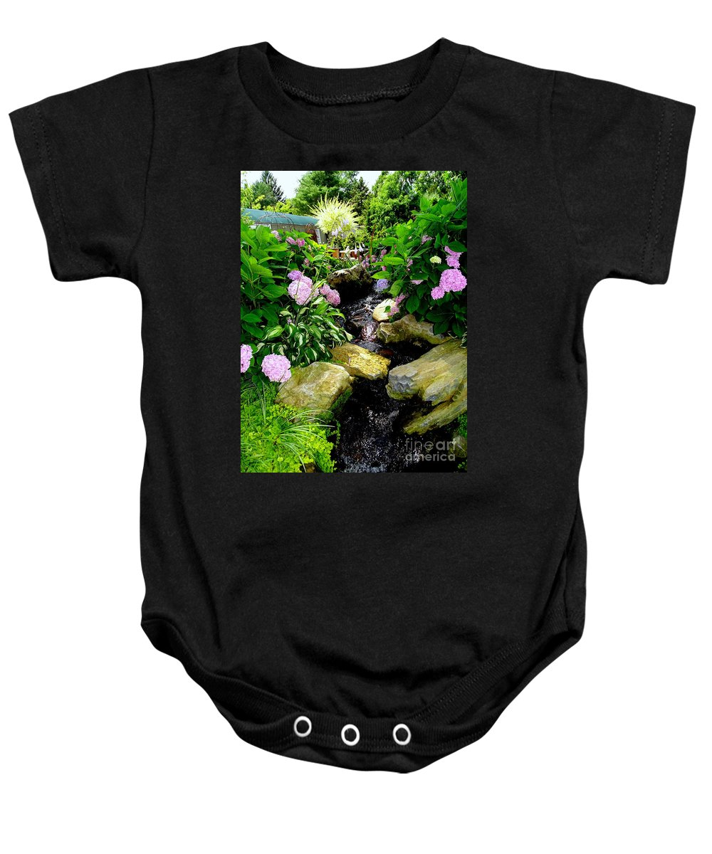 Nature Baby Onesie featuring the photograph Nursery Display by Ed Weidman