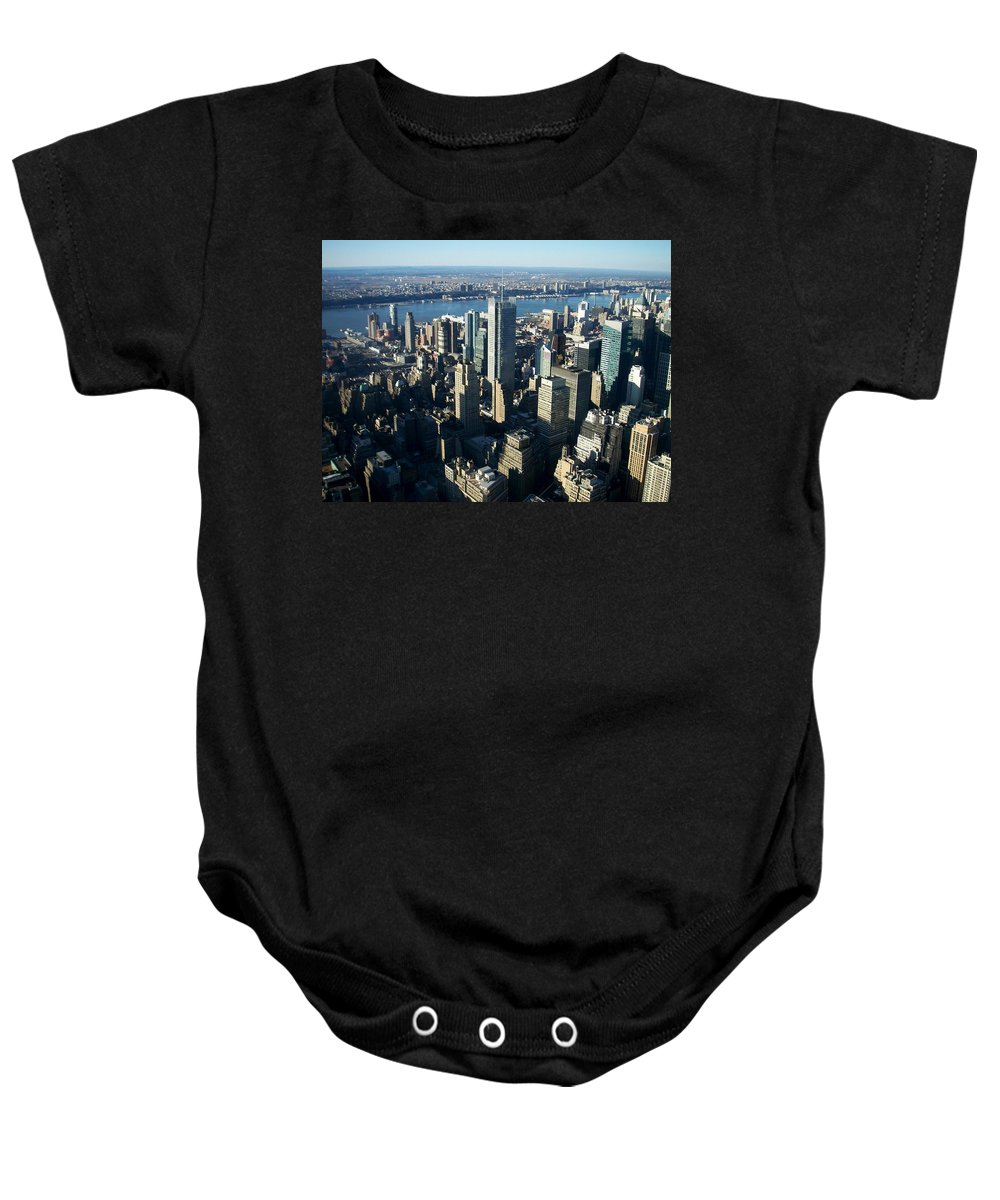 Nyc Baby Onesie featuring the photograph Nyc 1 by Anita Burgermeister