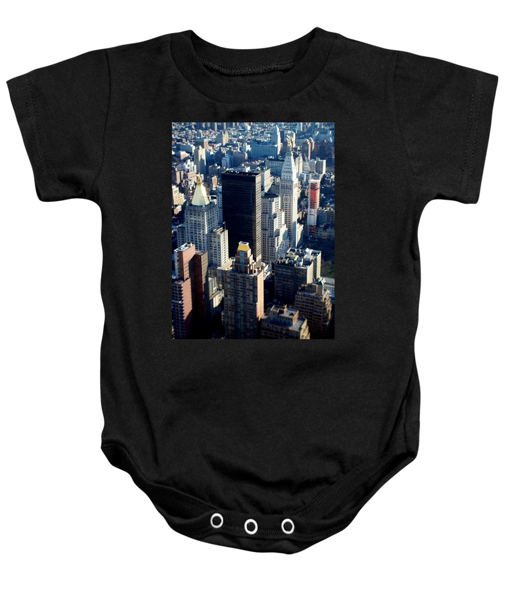 Nyc Baby Onesie featuring the photograph Nyc 2 by Anita Burgermeister