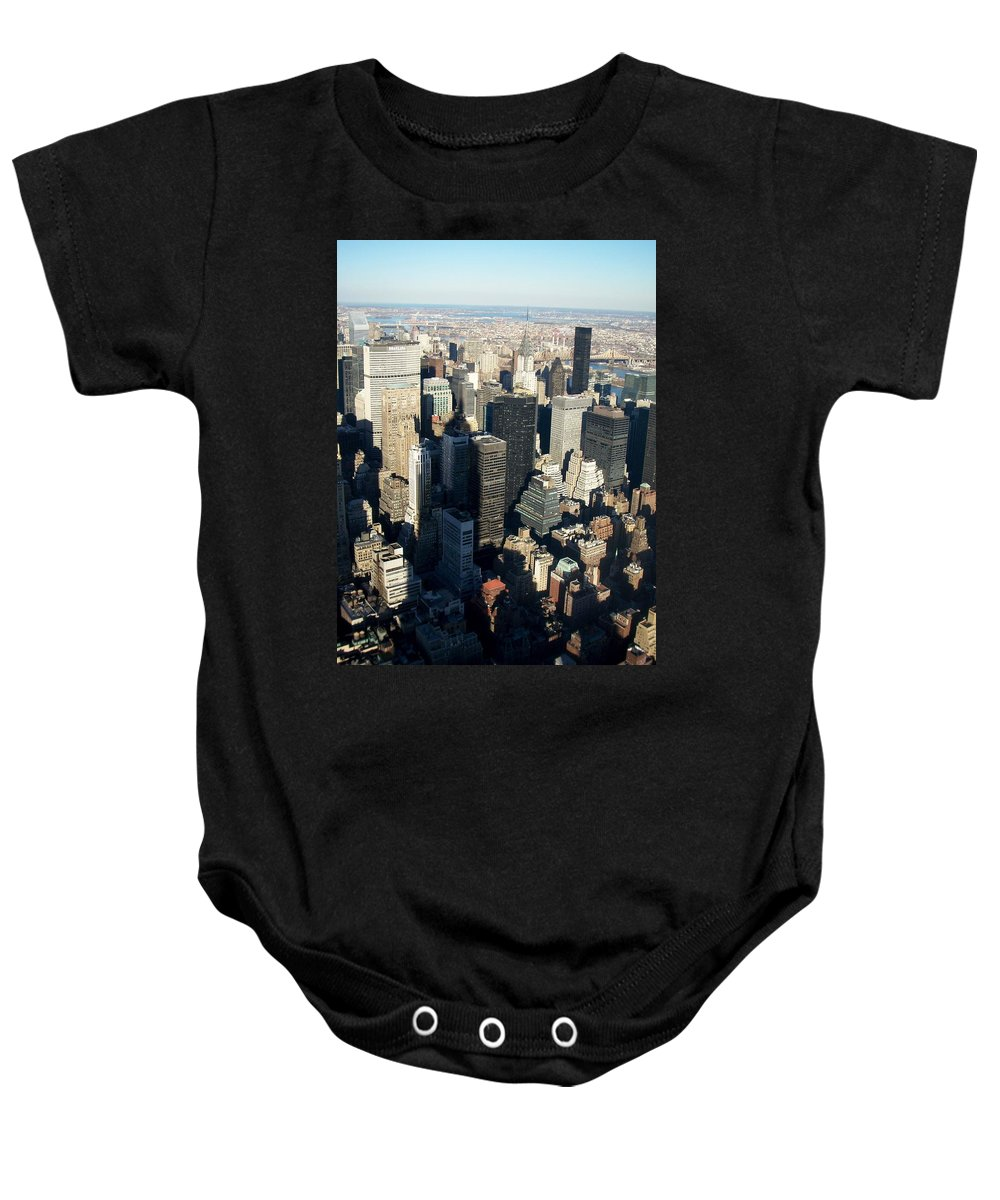 Nyc Baby Onesie featuring the photograph Nyc 3 by Anita Burgermeister