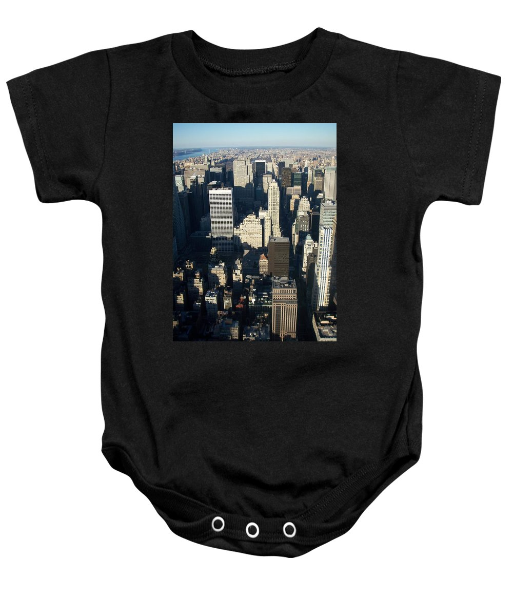 Nyc Baby Onesie featuring the photograph Nyc 5 by Anita Burgermeister