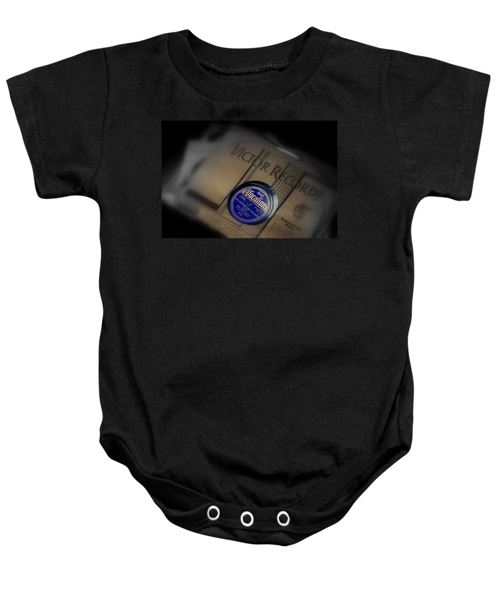 Photography Baby Onesie featuring the photograph Old Memories by Susanne Van Hulst