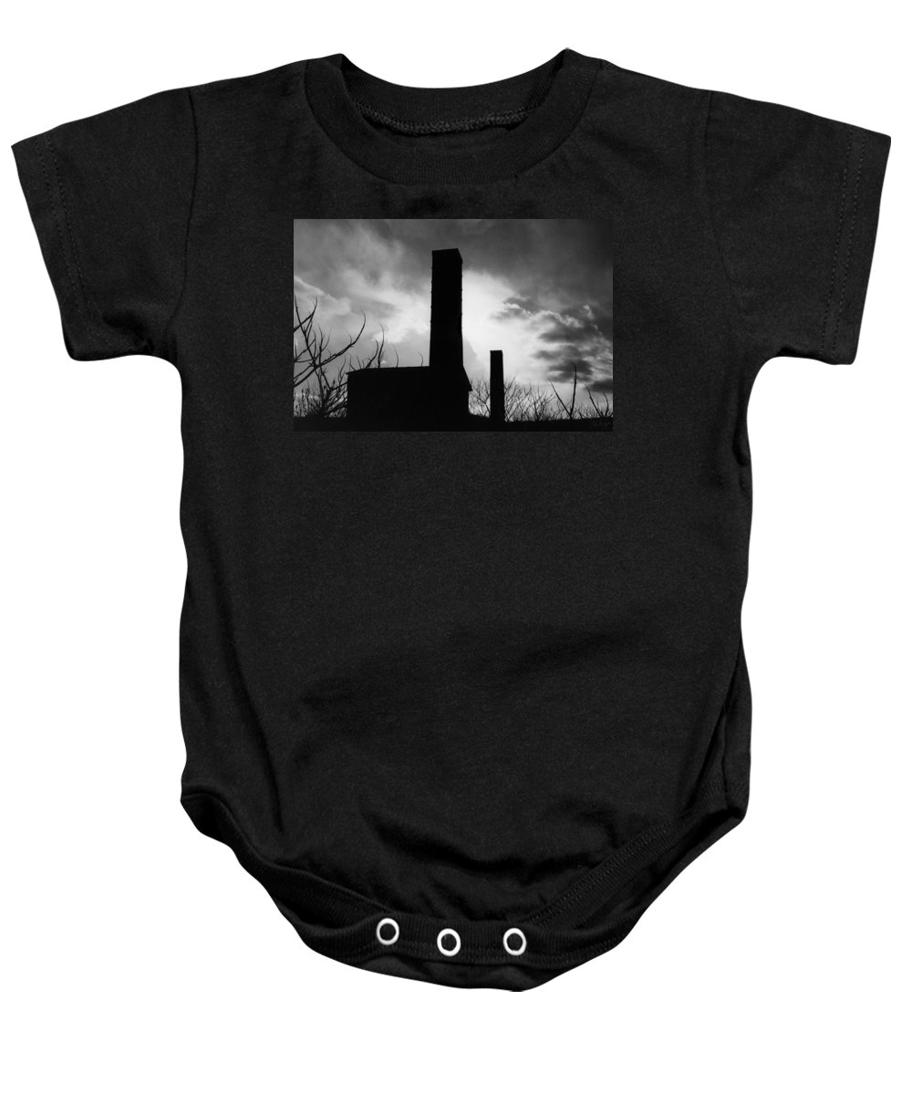 Landscape Baby Onesie featuring the photograph Old Mill by Phill Doherty