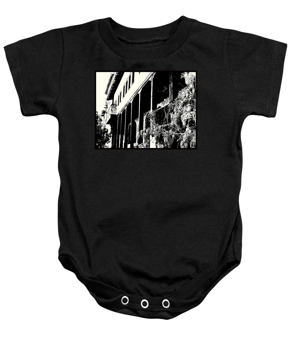 And Baby Onesie featuring the photograph Old Monastery by Milena Ilieva