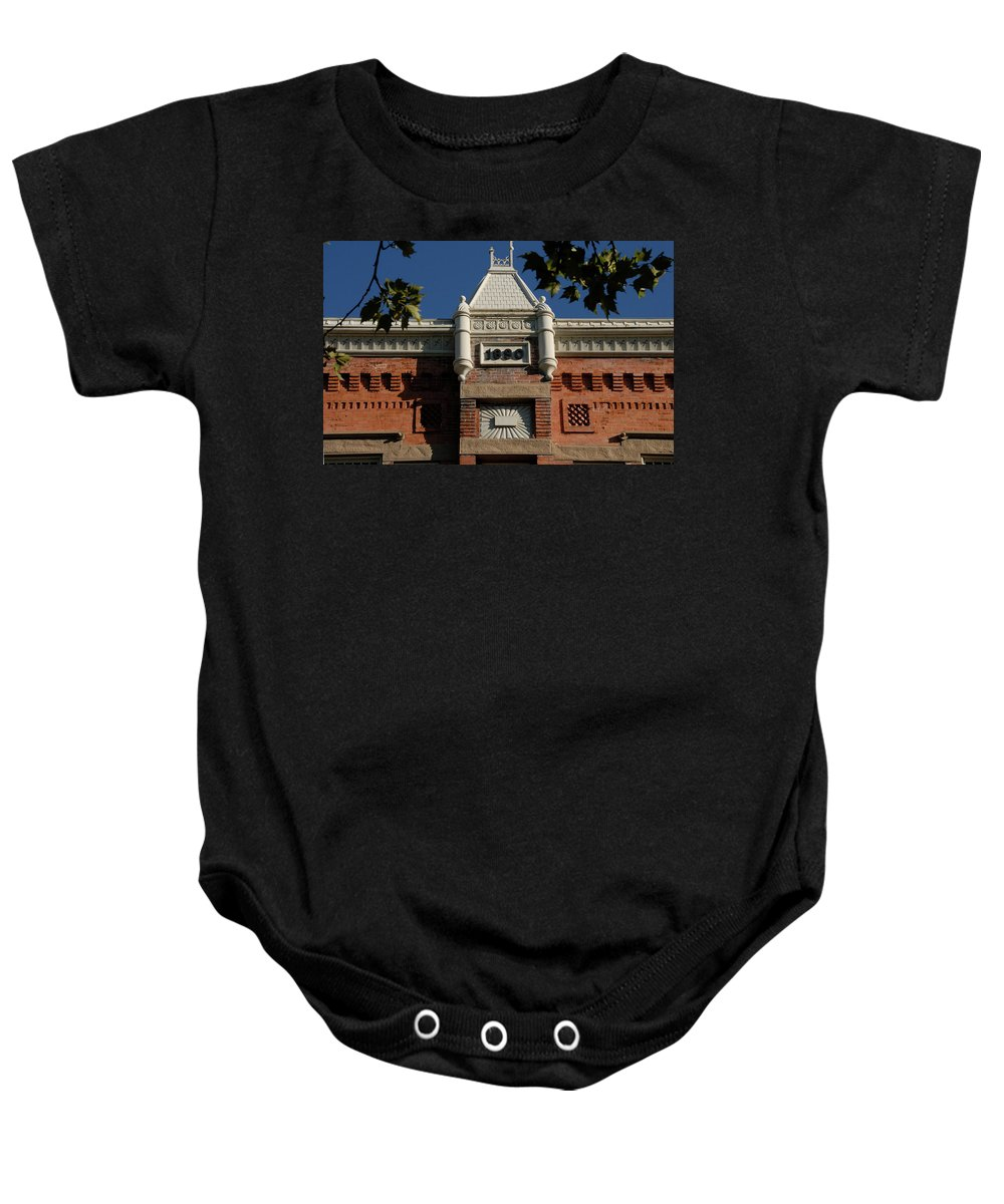 Fine Art Photography Baby Onesie featuring the photograph Old Provo by David Lee Thompson