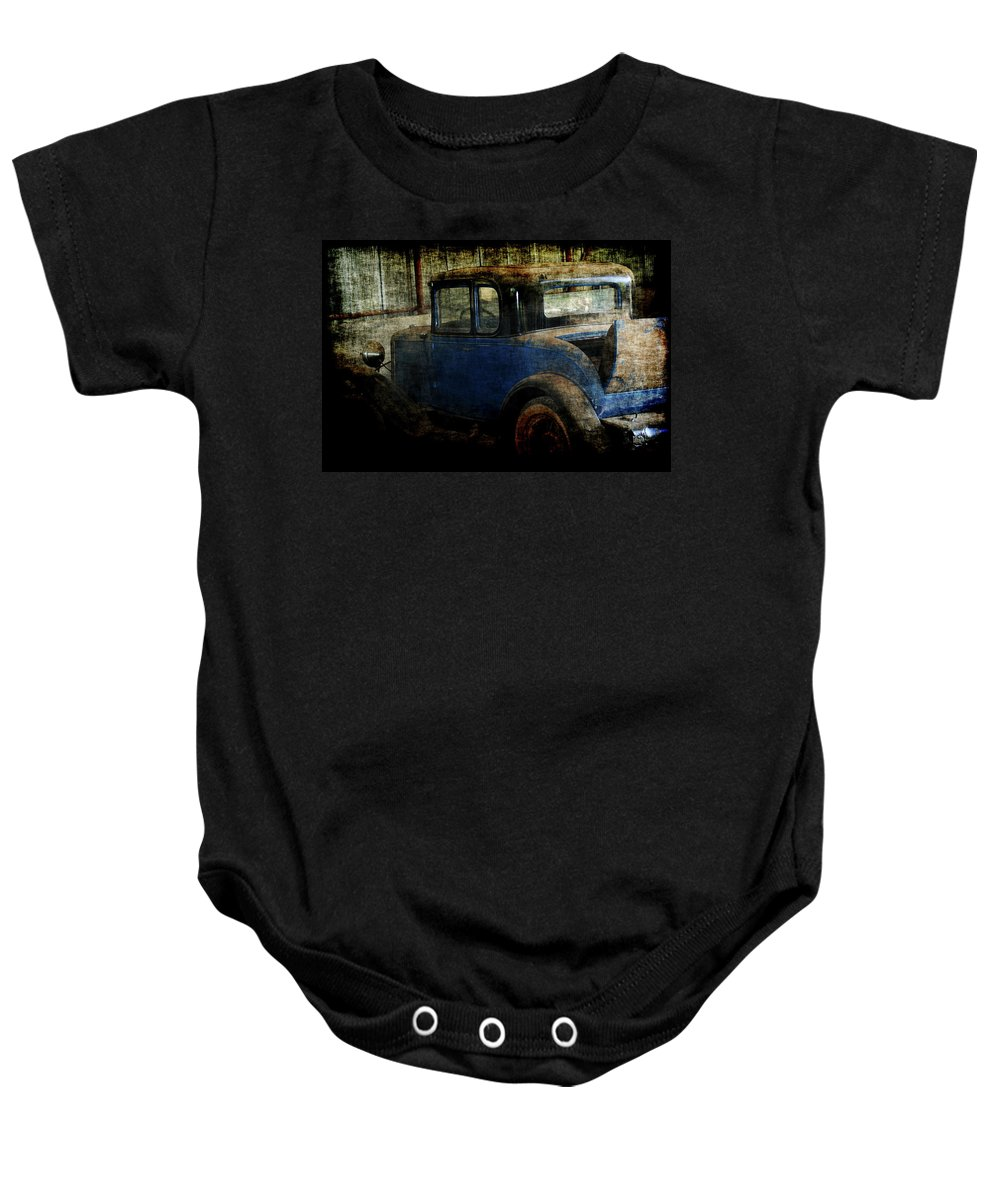 Old Cars Baby Onesie featuring the photograph Oldie by Ernie Echols