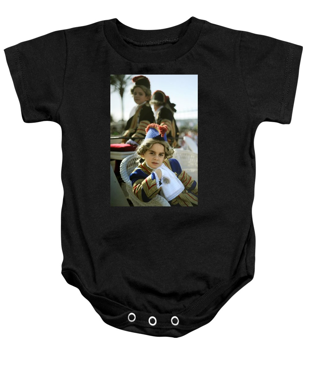 Spain Baby Onesie featuring the photograph On The Carriage by Rafa Rivas