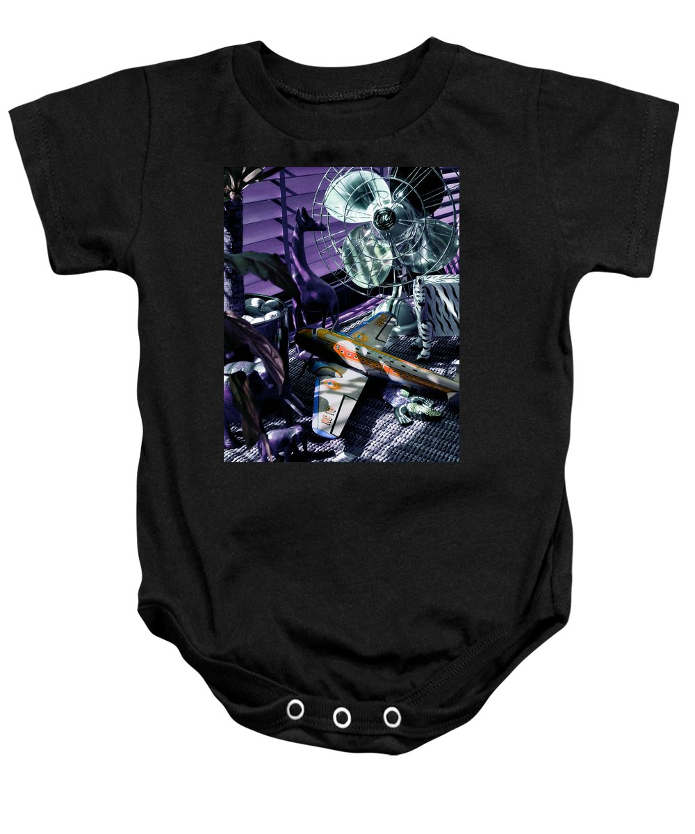 Still Life Baby Onesie featuring the photograph Only Angels Have Wings by Charles Stuart