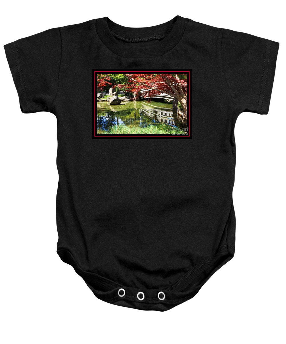 Spring Baby Onesie featuring the photograph Over Springtime Pond by Carol Groenen
