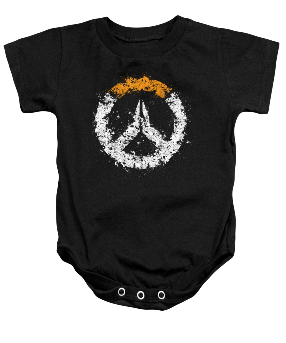 2ceef72fe Overwatch Baby Onesie featuring the digital art Overwatch by Jonathon  Summers