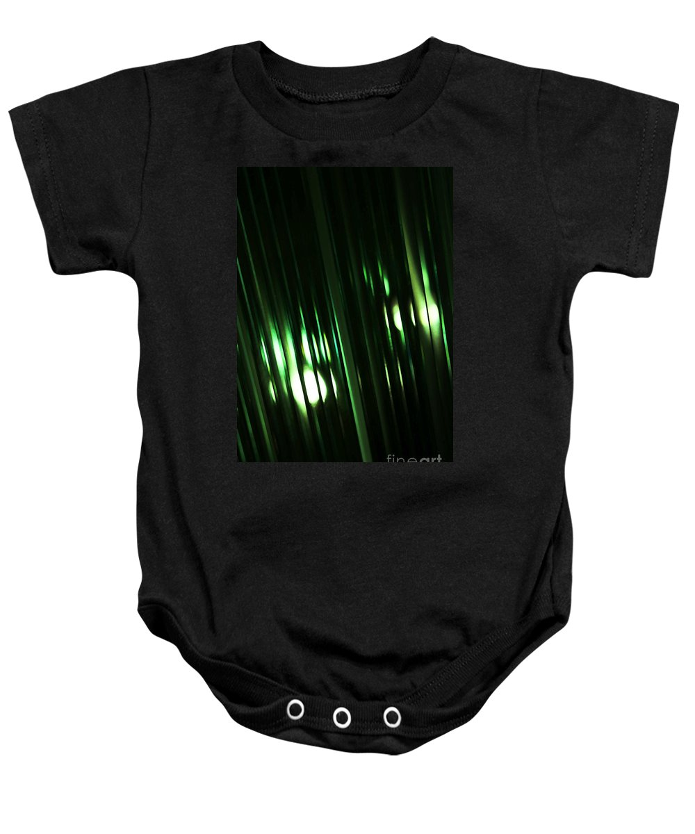 Glass Baby Onesie featuring the photograph Oz by Linda Shafer