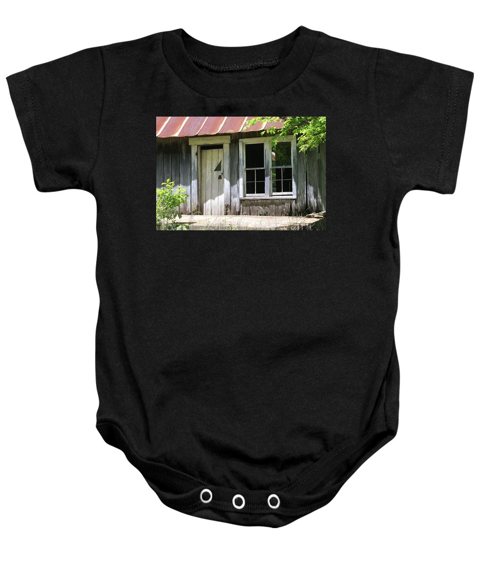 Ozarks Baby Onesie featuring the photograph Ozark Home by Marty Koch