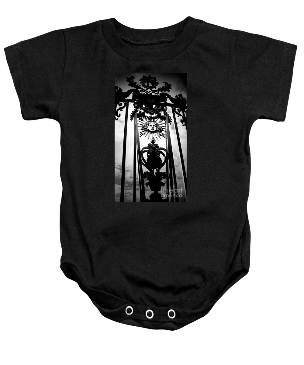London Baby Onesie featuring the photograph Palace Gate by Amanda Barcon