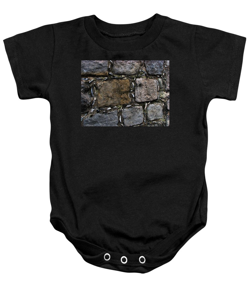 Bath Baby Onesie featuring the photograph Palace Walls by Amanda Barcon