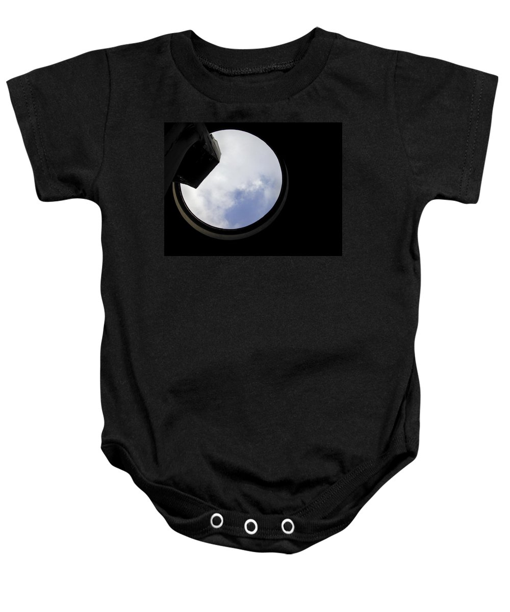 Sky Baby Onesie featuring the photograph Panthion Rome Italy by Joseph Mari