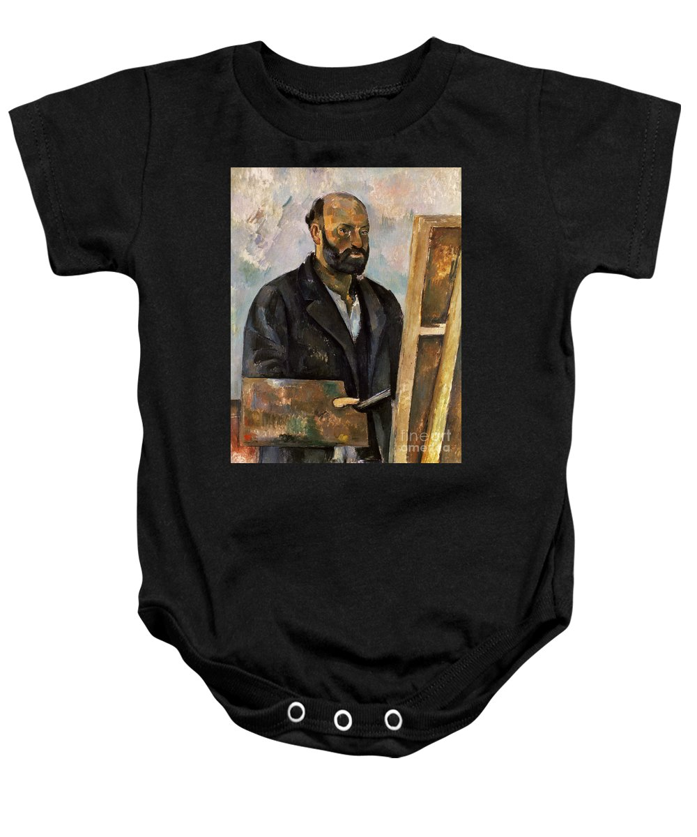 1885 Baby Onesie featuring the photograph Paul Cezanne (1839-1906) by Granger