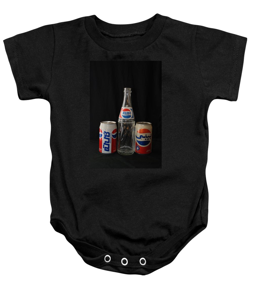 Korean Baby Onesie featuring the photograph Pepsi From Around The World by Rob Hans