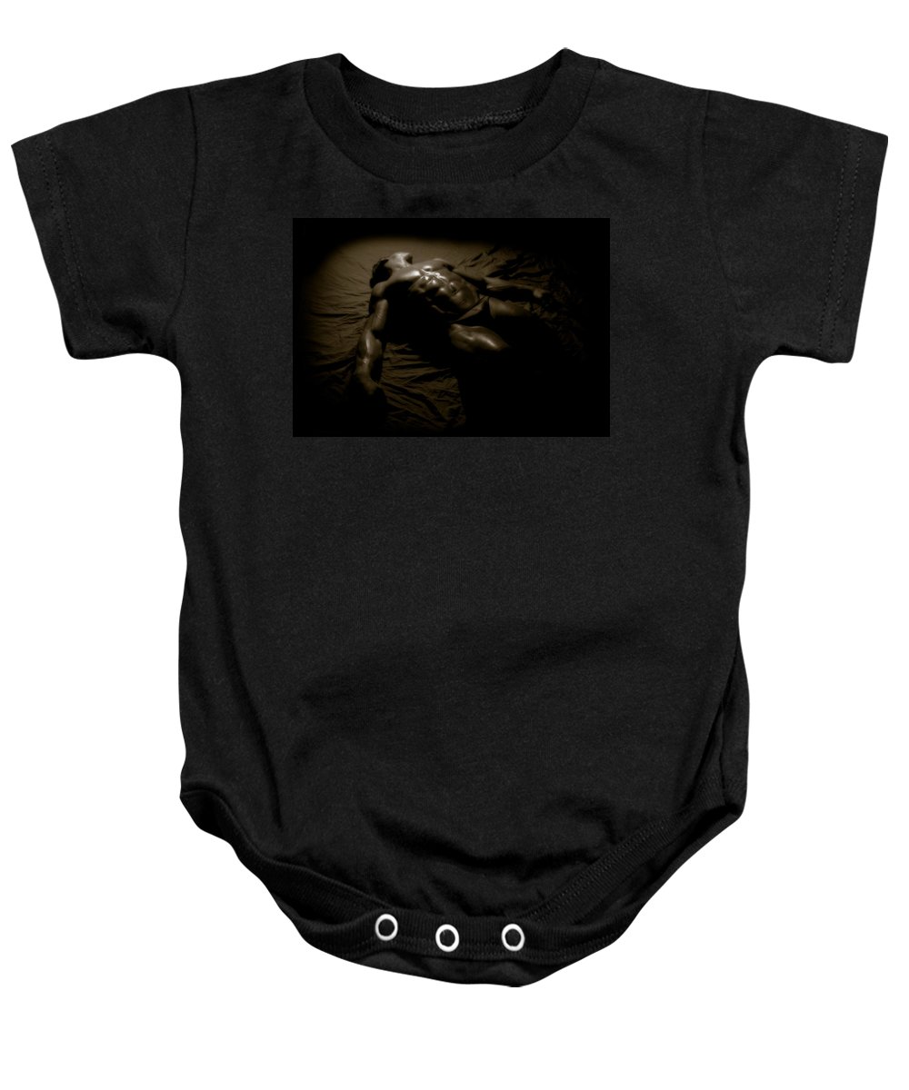 Muscle Baby Onesie featuring the photograph Photo 27 by Marcin and Dawid Witukiewicz