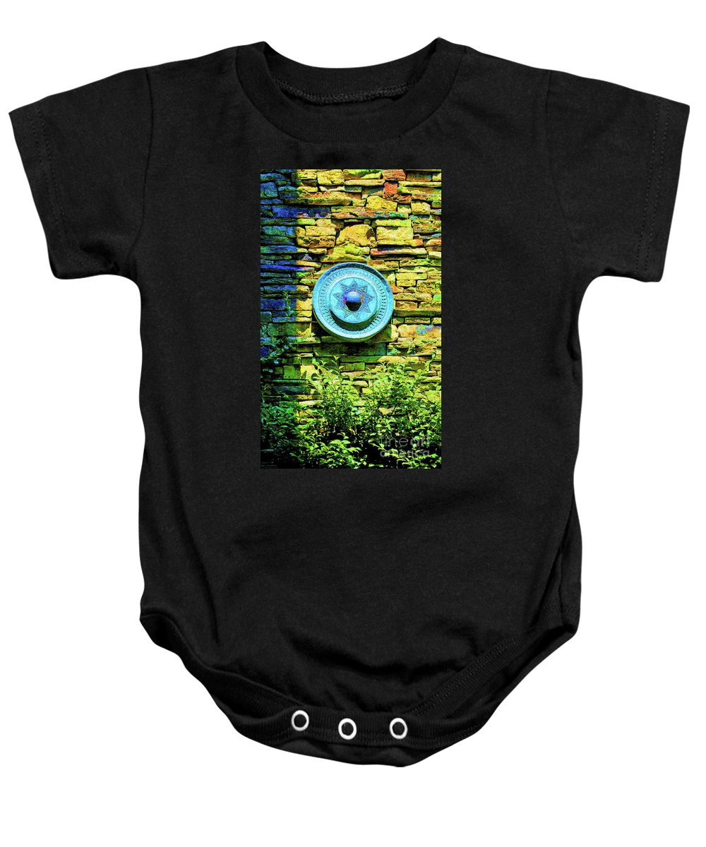 Asian Baby Onesie featuring the photograph Plate Of Stone by Jost Houk
