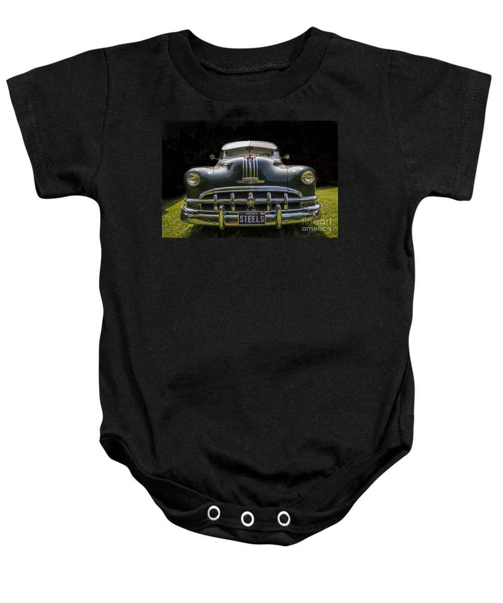 Pontiac Baby Onesie featuring the photograph Pontiac Big Mouth by Joann Long