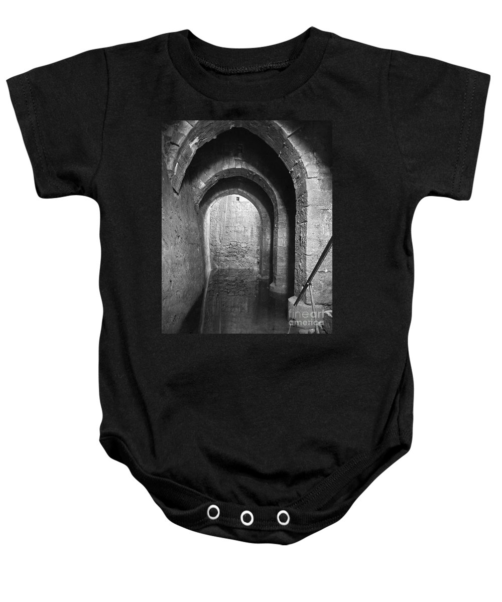 20th Century Baby Onesie featuring the photograph Pool Of Bethesda by Granger