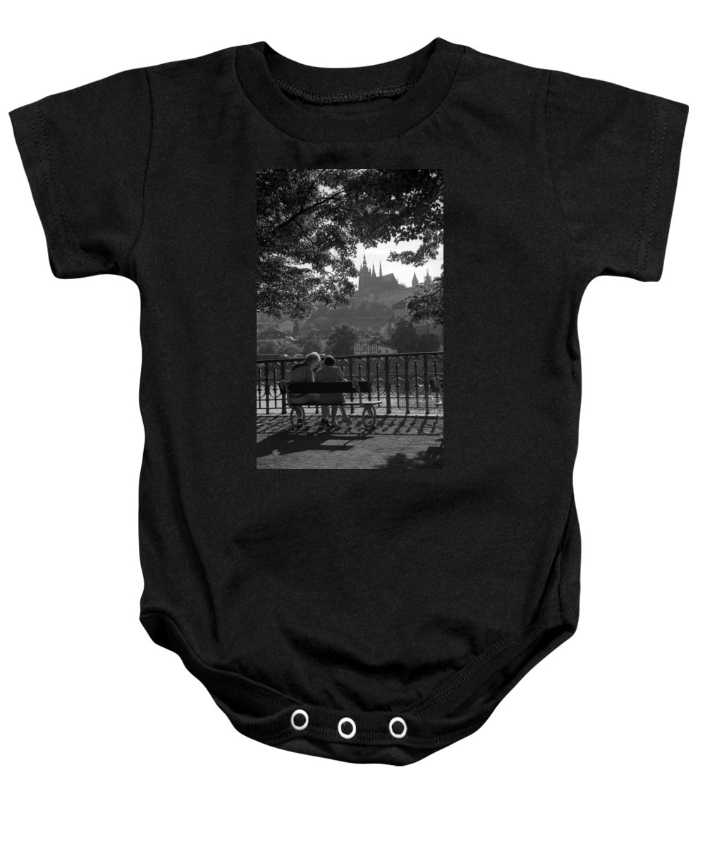 Prague Baby Onesie featuring the photograph Prague II by Patrick Klauss