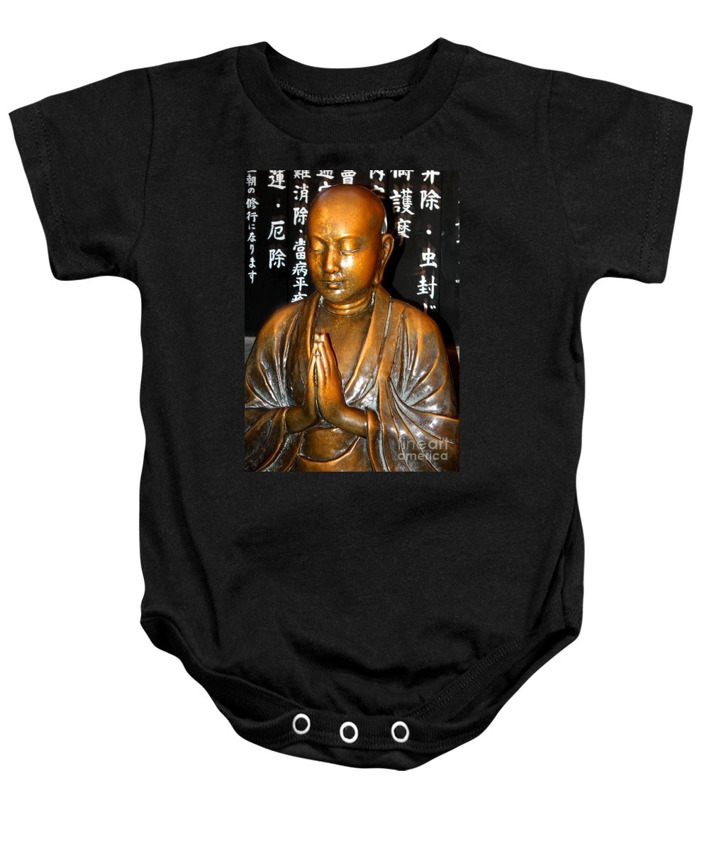 Tokyo Baby Onesie featuring the photograph Prayers For Japan by Carol Groenen