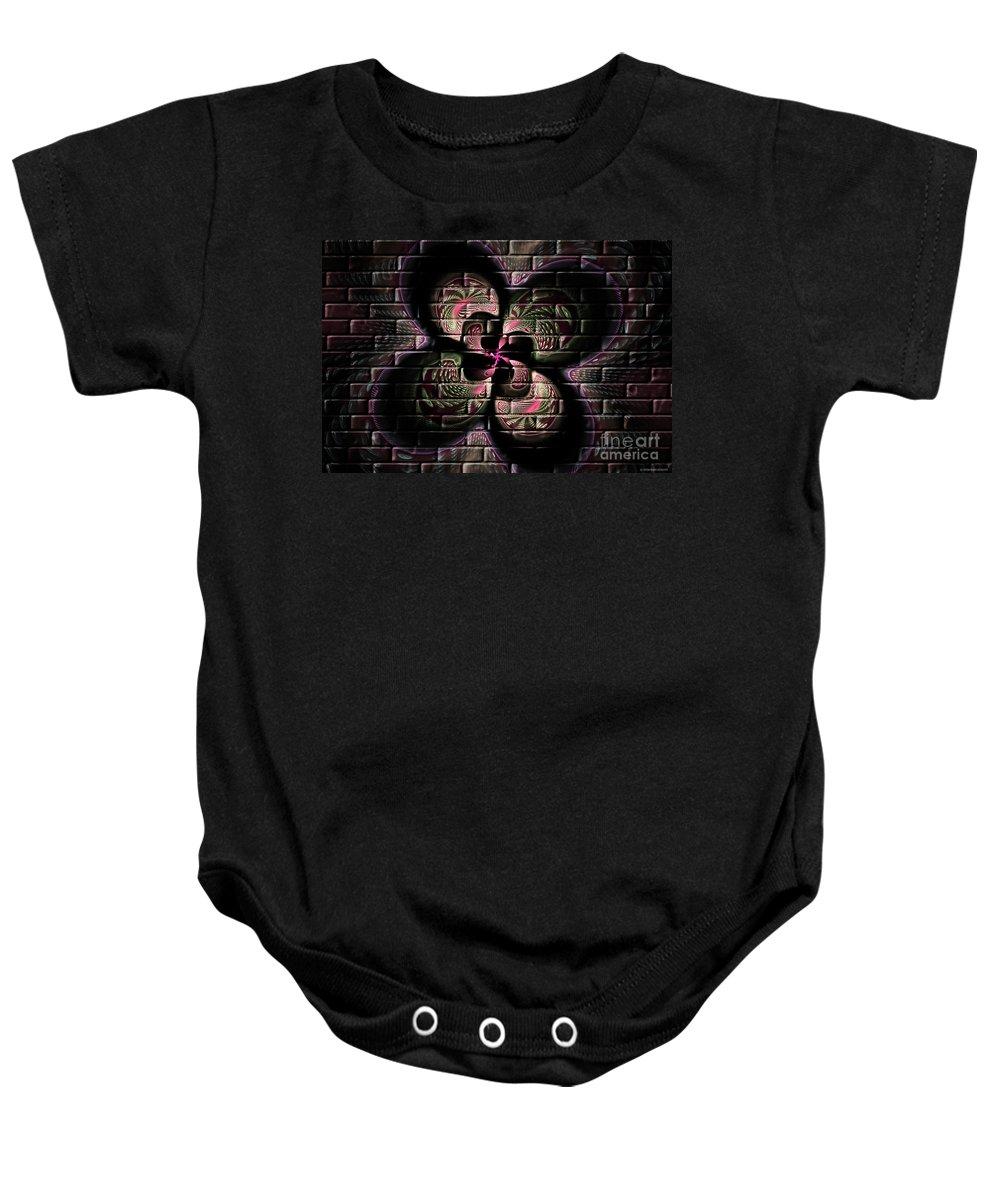 Digital Baby Onesie featuring the digital art Propel Into The Future by Deborah Benoit