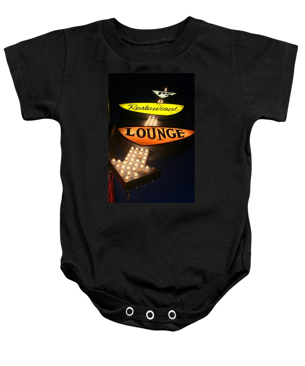 Ps Lounge Baby Onesie featuring the photograph Ps Lounge by Jeffery Ball