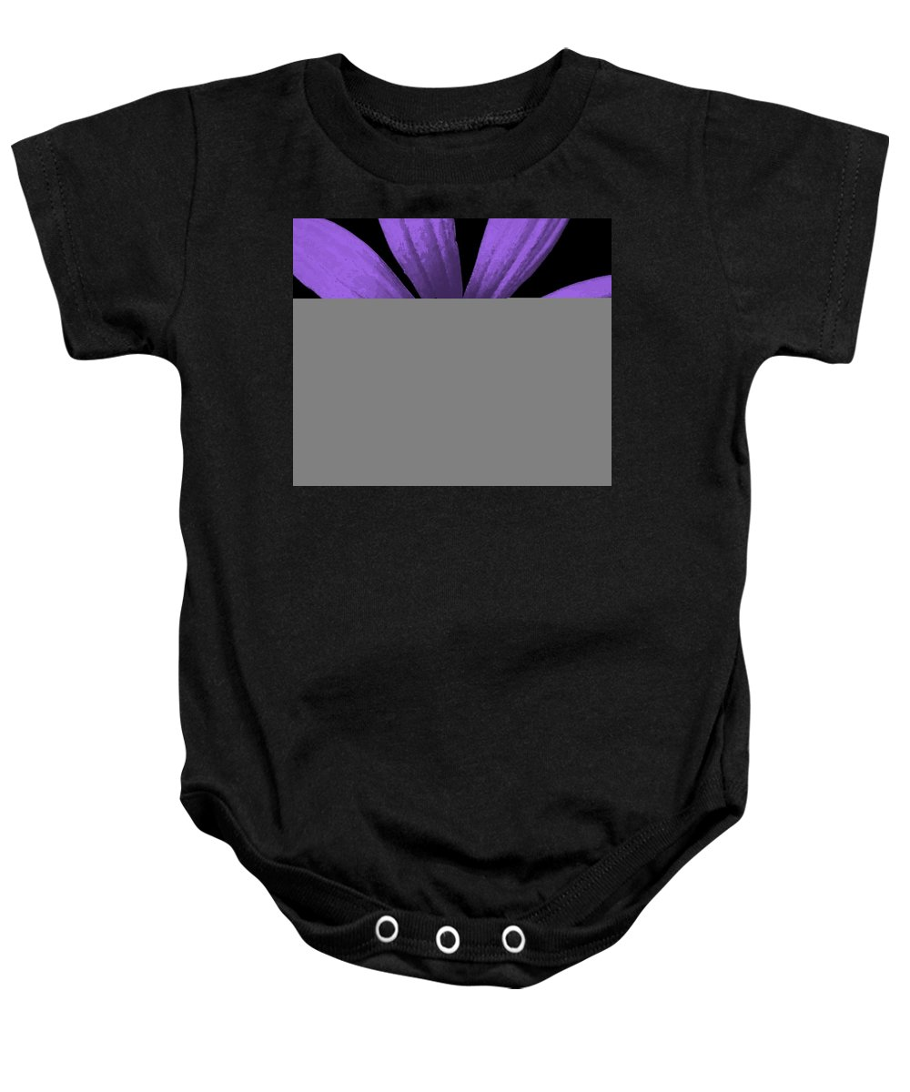 Still Life Baby Onesie featuring the photograph Purple Passion by Ed Smith