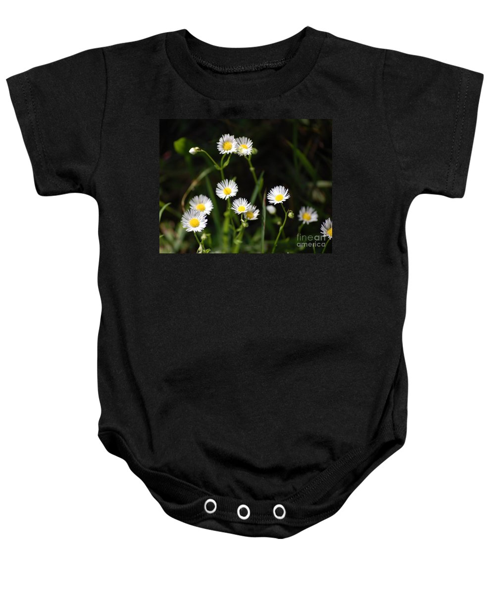 Digital Photo Baby Onesie featuring the photograph Pushing Up..... by David Lane