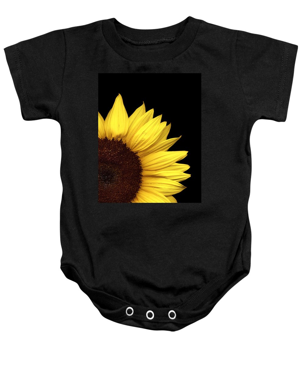 Flower Baby Onesie featuring the photograph Quarter Sun by Marilyn Hunt